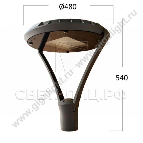 Садово-парковые светильники 3591 0