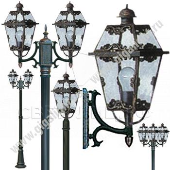Садово-парковые светильники 1008 0