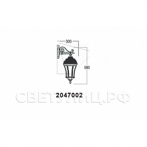 Садово-парковые светильники 1028, 2047 23