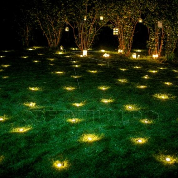 Грунтовый светильник LED брусчатка 6