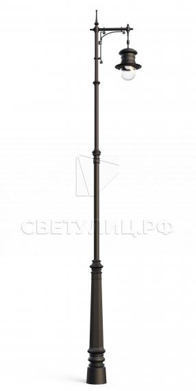 Исторический фонарь И2 в Актобе 0