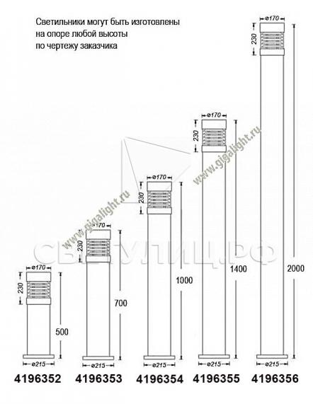Газонные светильники 4196 в Актобе 2