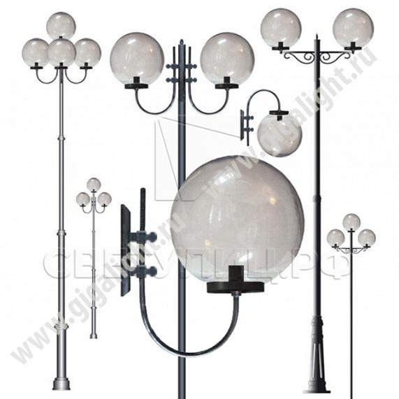 Садово-парковые светильники 2231, 2106, 2053, 2042, 2183, 2184 0
