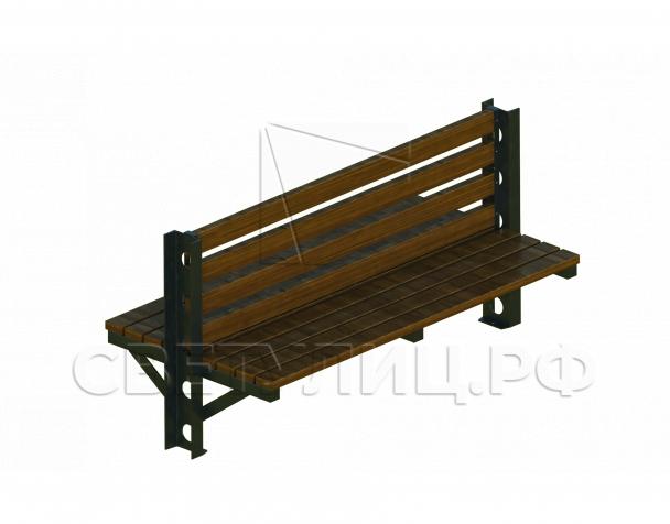Хайлайн-2 скамейка СК322 в Актобе 0