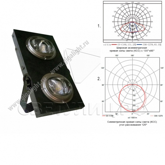 Прожектор светодиодный 60 Вт - 5818 0