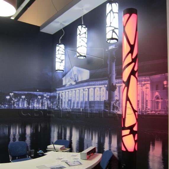 Уличный декоративный светодиодный фонарь Вологда 2