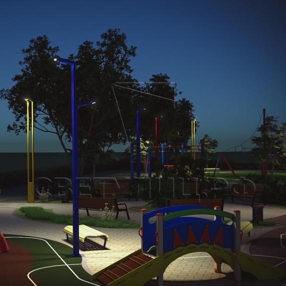 Светодиодная система уличного освещения Сходня 1