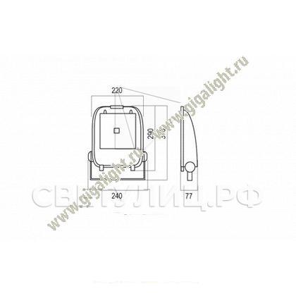 Прожектор светодиодный 30 Вт - 5239 1