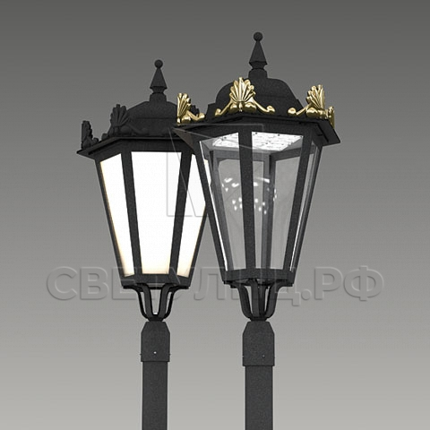 Светильник уличный классический светодиодный Петродворец 0