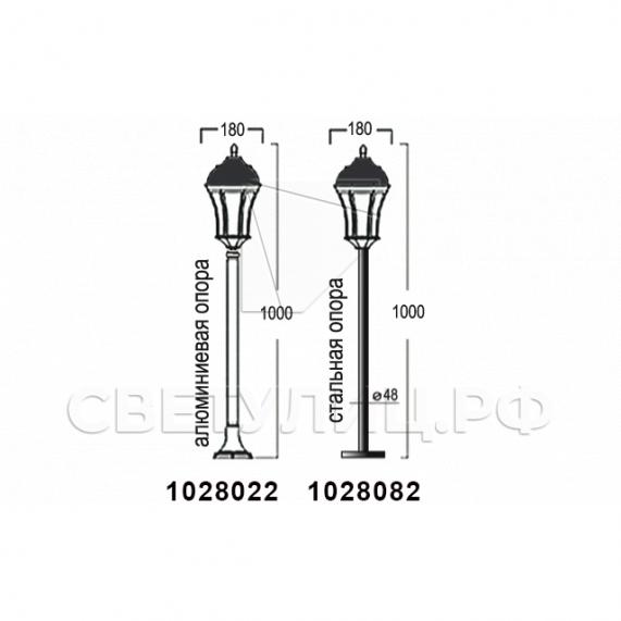 Садово-парковые светильники 1028, 2047 13