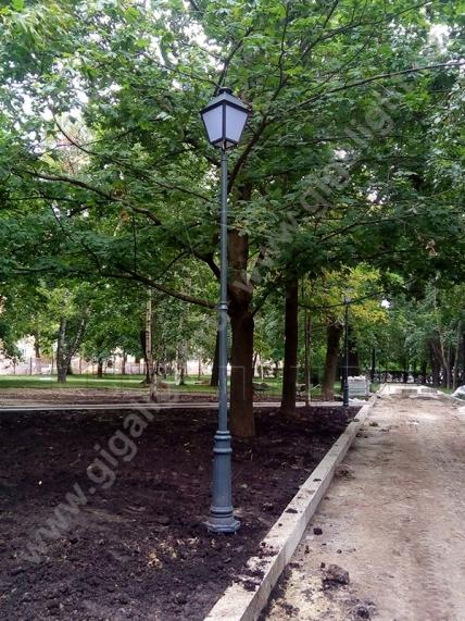 Садово-парковые светильники 1002, 1009, 2039, 2189 7