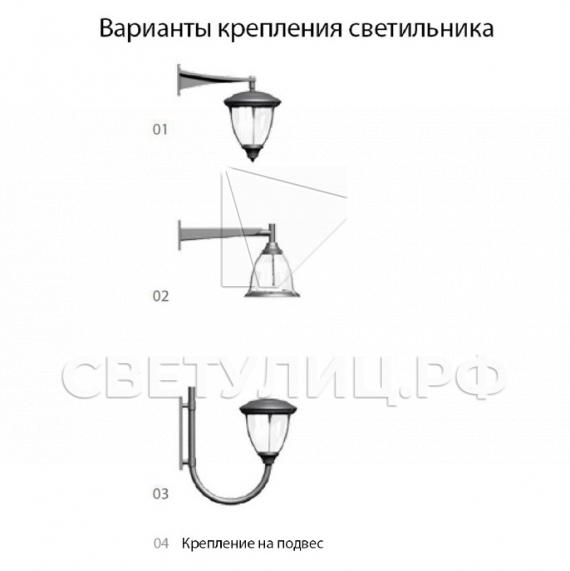 Светодиодный уличный светильник Селия в Актобе 2