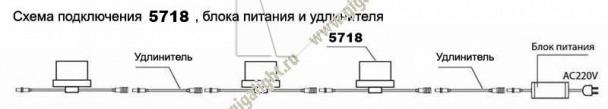Газонные светильники 5718 5