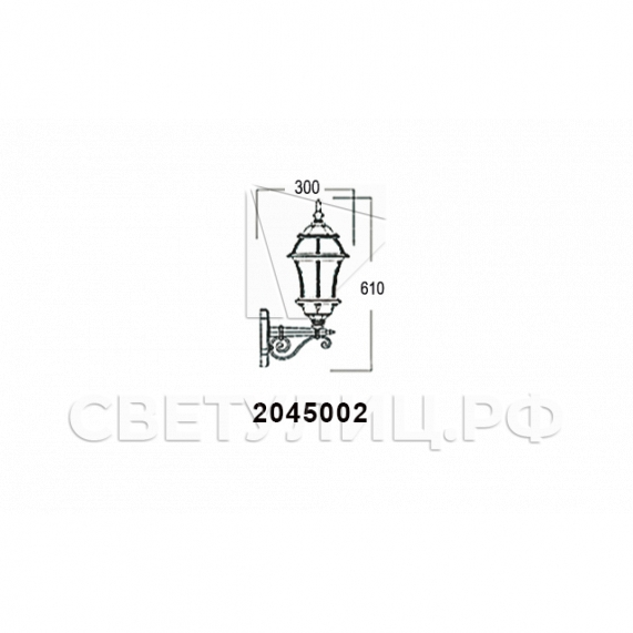 Садово-парковые светильники 1019, 2045 23