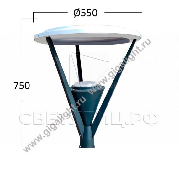 Садово-парковые светильники 3439 1