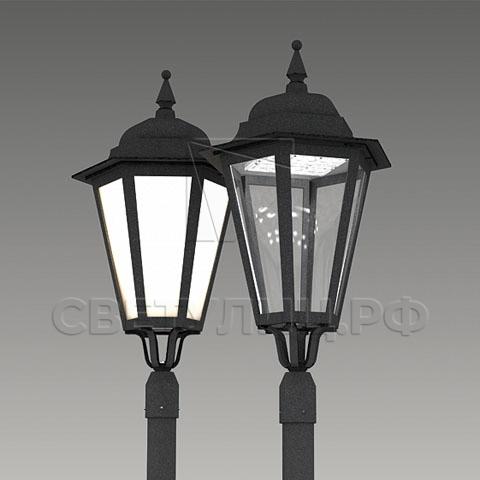 Светильник уличный классический светодиодный Ораниенбаум 0