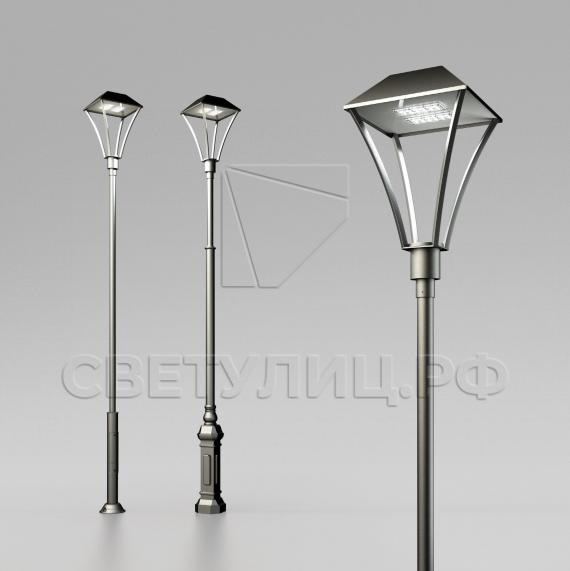 Светодиодный уличный светильник Оредеж LED в Актобе 0
