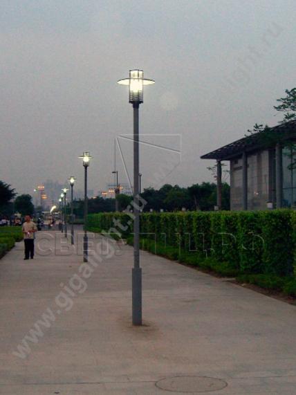 Садово-парковые светильники 3057, 3711 4