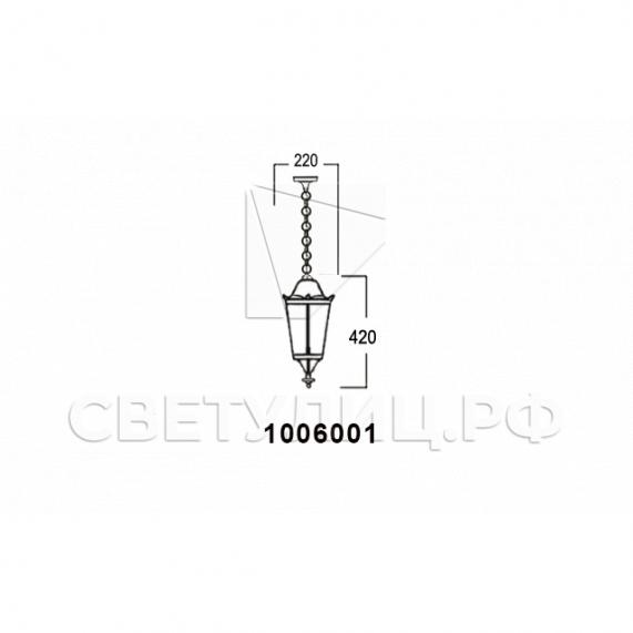 Садово-парковые светильники 1006 3