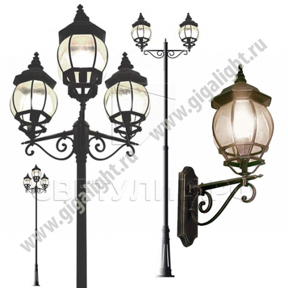Садово-парковые светильники 2051 0