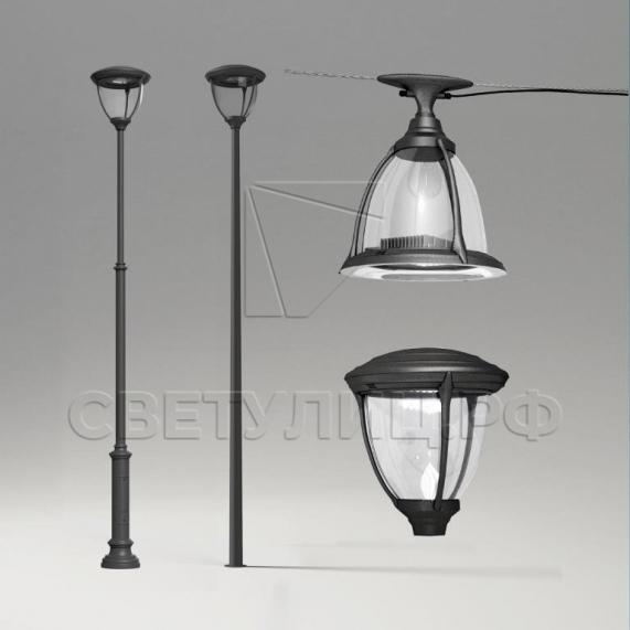 Светодиодный уличный светильник Селия в Актобе 0