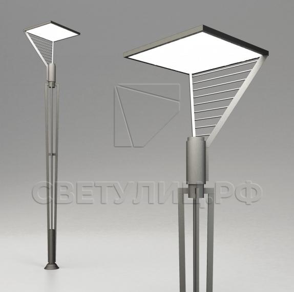 Светодиодная уличная опора освещения Иматра LED в Актобе 0