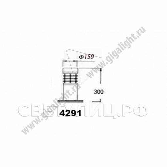 Газонные светильники 4291 1