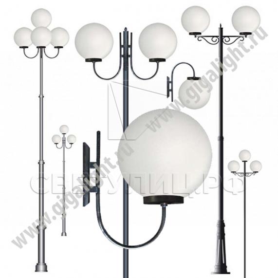 Садово-парковые светильники 2053 в Актобе 0