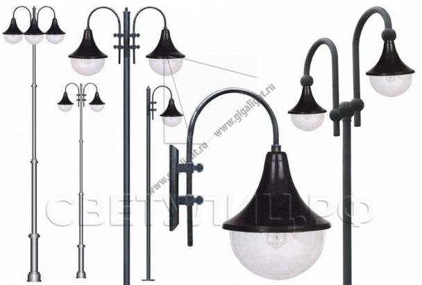 Садово-парковые светильники 2052 0
