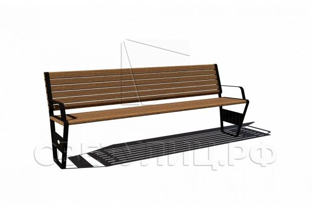 Московская классика скамейка СК41 0