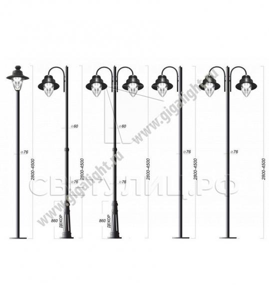 Садово-парковые светильники 2257 5
