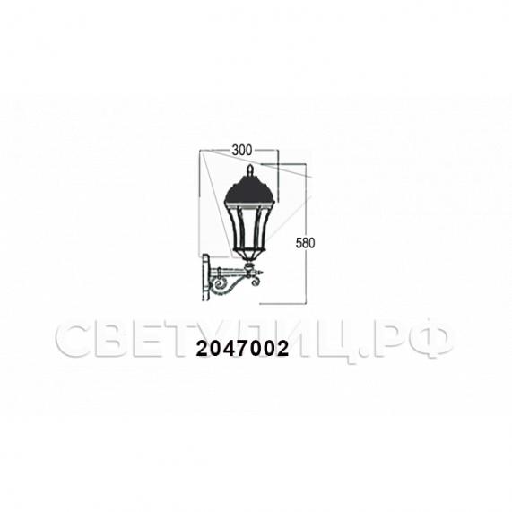 Садово-парковые светильники 1028, 2047 24