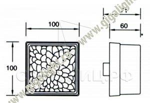 Газонные светильники 5718 2