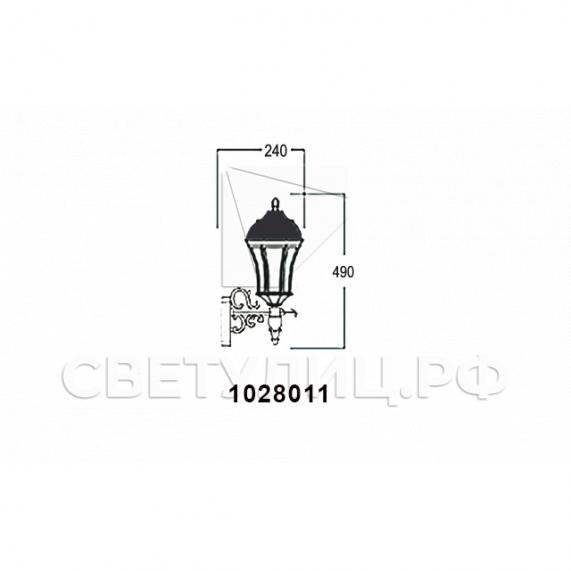 Садово-парковые светильники 1028, 2047 10