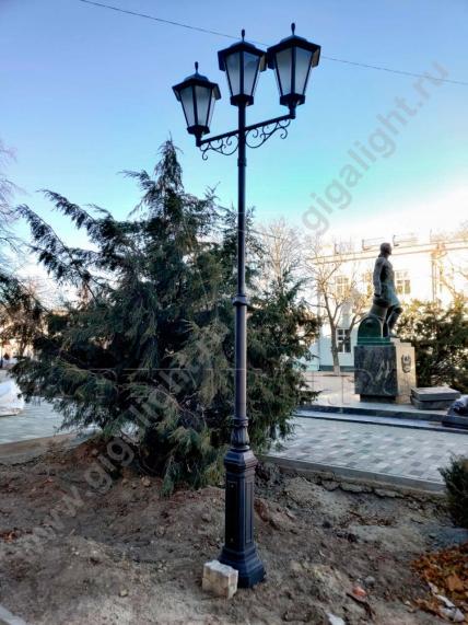 Садово-парковые светильники 2037, 2205 7