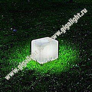 Газонные светильники Грасс Куб 0