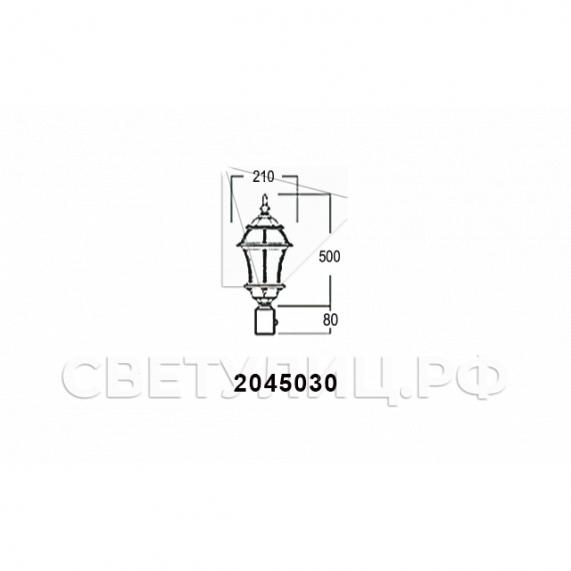 Садово-парковые светильники 1019, 2045 24