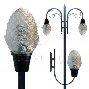 Садово-парковые светильники 1379, 1380, 2381, 2378 в Актобе 0