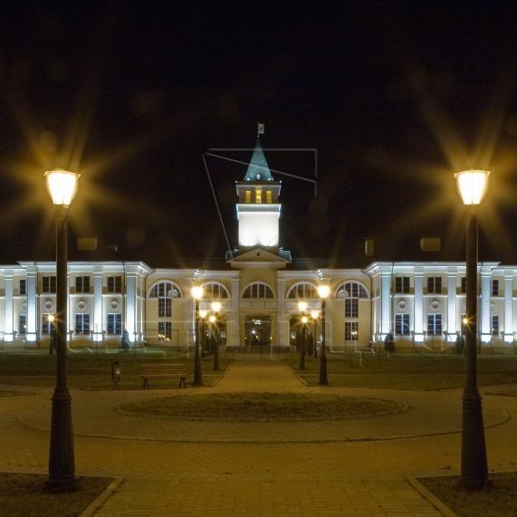 Уличная декоративная литая опора освещения Лигово в Актобе 1