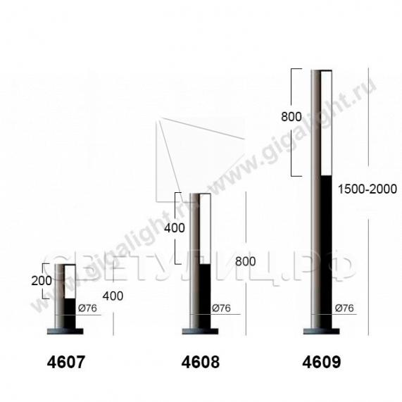 Ландшафтные светильники 4601-4609 в Актобе 3