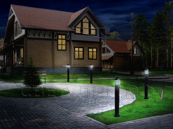 Газонные светильники Модерн 1 в Актобе 1
