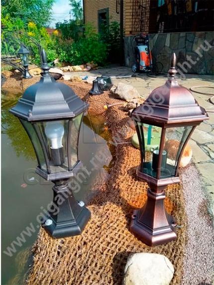 Садово-парковые светильники 1028, 2047 2