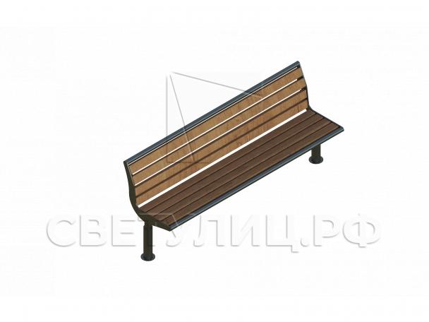 Стрит скамейка СК52 0