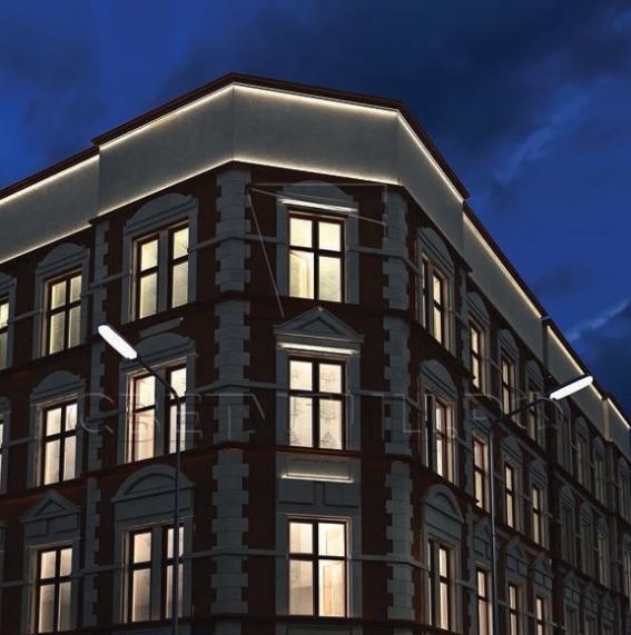 Уличный светодиодный светильник МикроЛайн 2