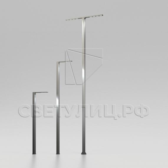 Металлическая светодиодная система уличного освещения Тверь 150 0