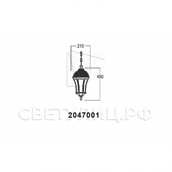 Садово-парковые светильники 1028, 2047 22