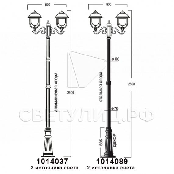Садово-парковые светильники 1014 в Актобе 14