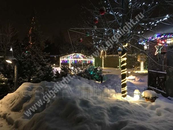 Садово-парковые светильники гибкая светодиодная лента 3