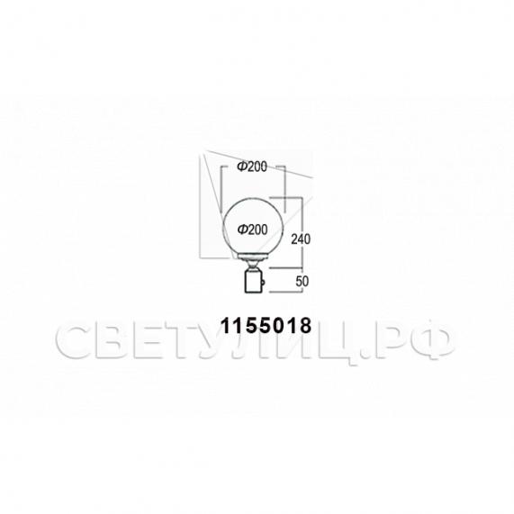 Садово-парковые светильники 1155, 1017, 2043, 2106 8