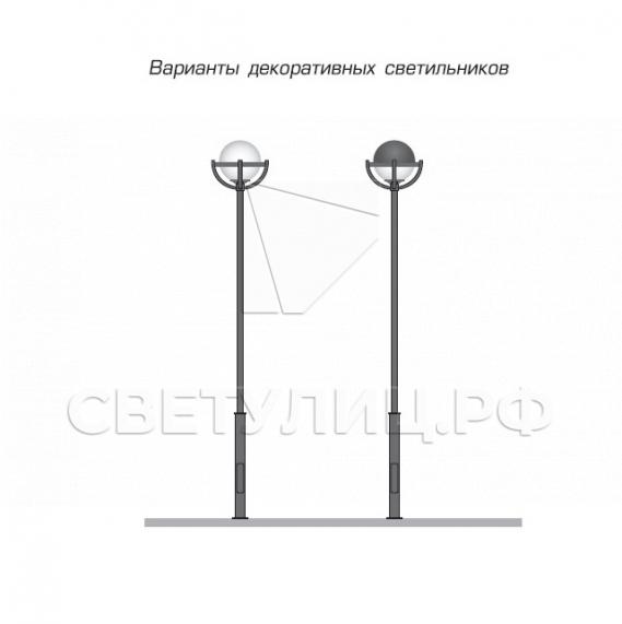 Уличная декоративная опора освещения Сабонис 2